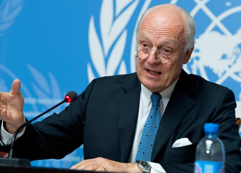 موفد الامم المتحدة الى سوريا يصل إلى دمشق غدا