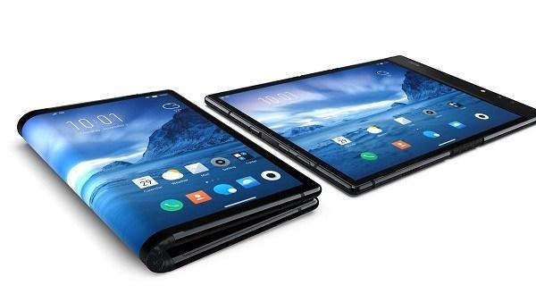 أول هاتف بشاشة قابلة للطيّ في العالم