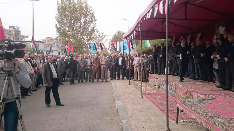 من #دمشق يوم عالمي للتضامن مع #فلسطين