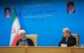 الرئيس روحاني : مسؤولو البيت الأبيض يعانون من إعاقة عقلية