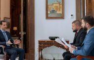 الرئيس الأسد: الوجود الأميركي في سوريا سيولد مقاومة عسكرية.. والحرب تنتهي عندما ينتهي الإرهاب